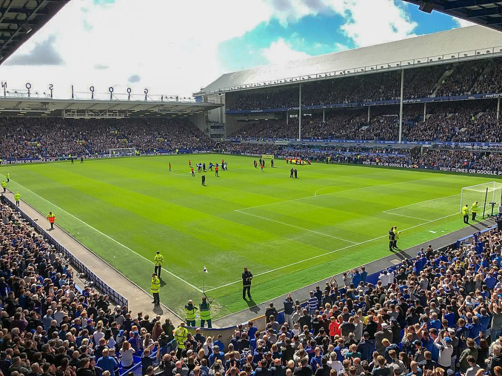 The Old Lady - Goodison Park