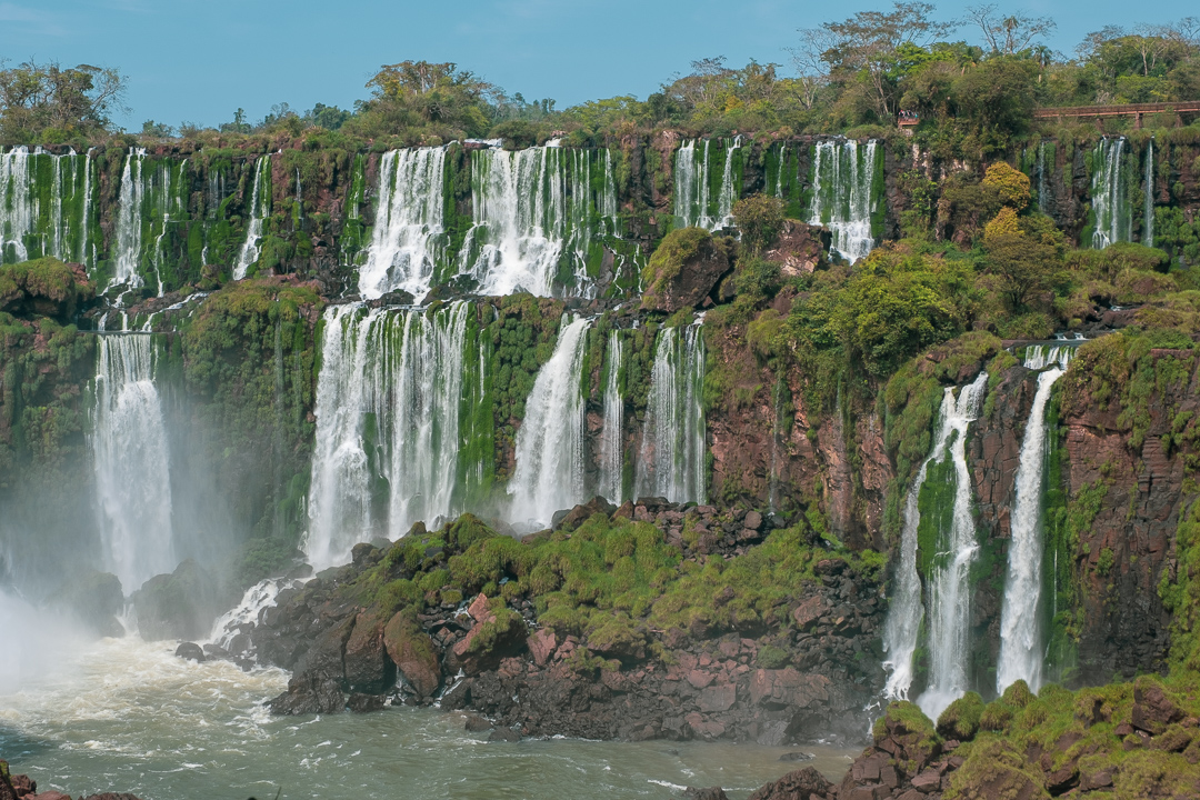 Iguazu Falls incredible waterfalls Argentina